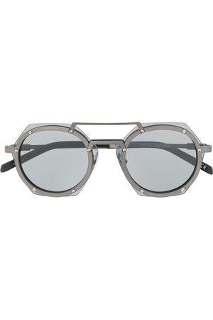 HUBLOT Geometric lens tinted glasses