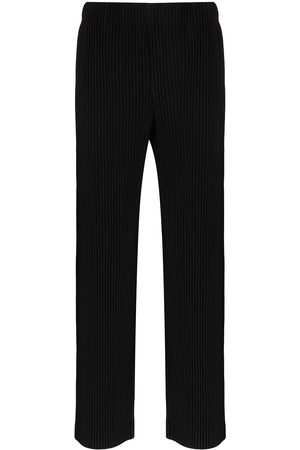 HOMME PLISSÉ ISSEY MIYAKE Mid-rise pleated trousers