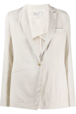 FORTE FORTE Fitted narrow lapel blazer