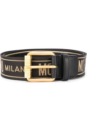 Moschino Logo-embellished belt