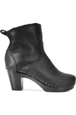 "No.6 5"" Pull On Shearling Clog Boot"