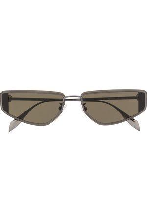 Alexander McQueen Rectangular-frame sunglasses