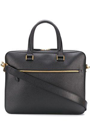 Salvatore Ferragamo Muži Tašky na notebook - Logo embossed business bag
