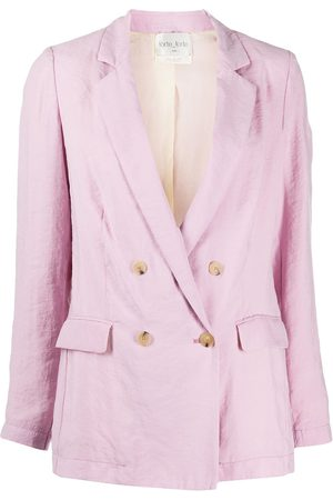 FORTE FORTE Double breasted blazer