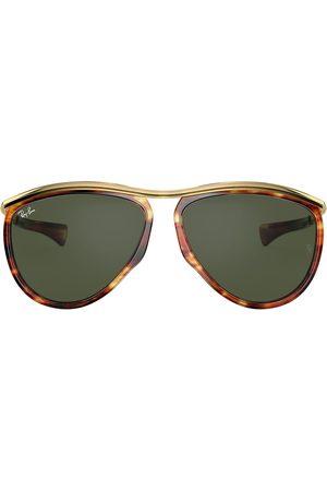 Ray-Ban Olympian aviator sunglasses