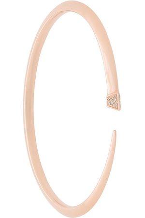SHAUN LEANE Slim diamond Tusk bangle