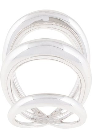 CHARLOTTE CHESNAIS Echo triple-band ring