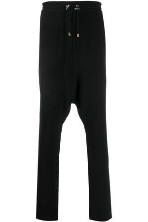 Balmain Crepe harem-cut pants