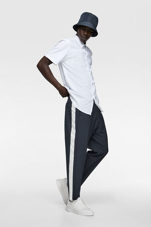 Zara Kalhoty jogger s pruhy po stranách