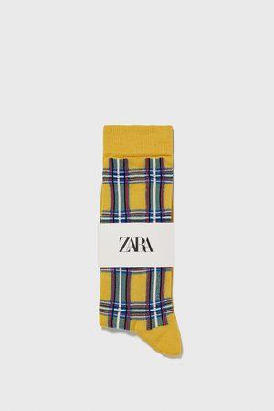 Zara Ponožky s kostkou