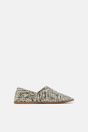 Zara Textilní papuče