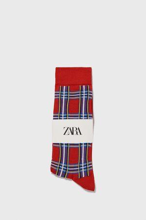 Zara Muži Ponožky - Ponožky s kostkou