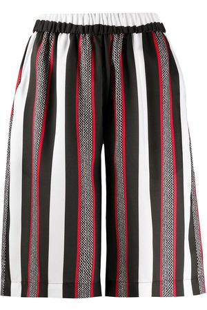 Msgm Striped bermuda shorts