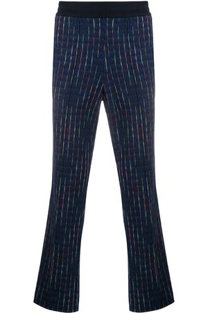 Missoni Embroidered straight-leg trousers