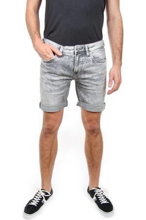 Pepe Jeans Pánské šedé džínové šortky Hatch