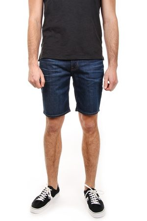 Tommy Hilfiger Muži Šortky - Pánské tmavě modré džínové šortky