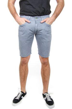 Pepe Jeans Muži Šortky - Pánské světle šedé šortky Stanley