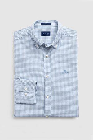 GANT Košile D1. Oxford Micro Check Slim Bd