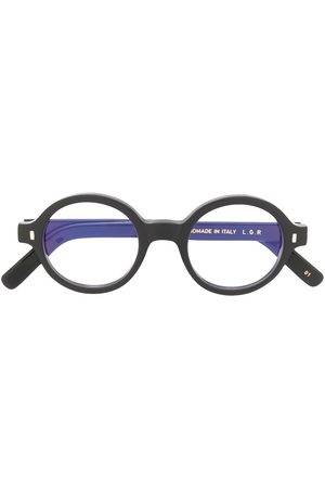 L.G.R Reunion Bold round frame glasses