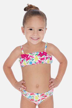 Mayoral Moda Infantil, S:A.U. Dívčí dvoudílné plavky Flowers