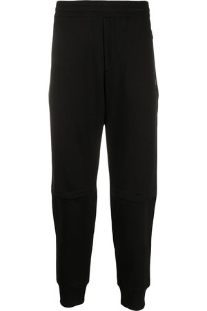 Alexander McQueen Embroidered logo patch track trousers