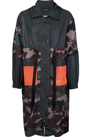 God's Masterful Children Camouflage print parka coat