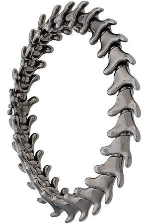 SHAUN LEANE Serpents Trace wide bracelet