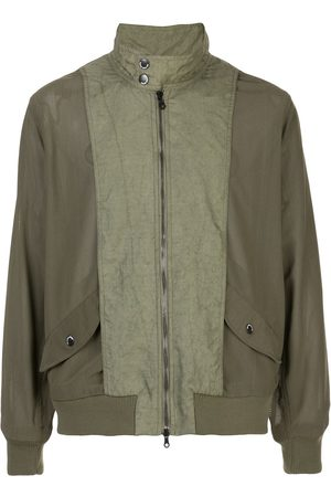 MOSTLY HEARD RARELY SEEN Meshed-up bomber jacket