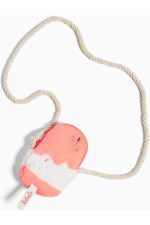 Zara Mini kabelka přes rameno tvaru zmrzliny s kožešinou