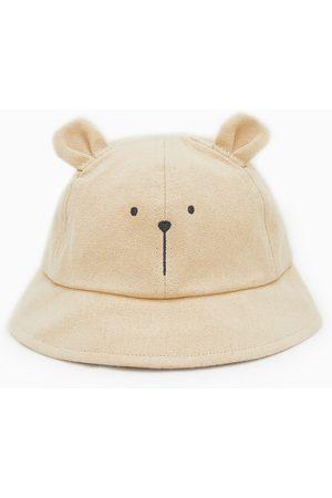 Zara Slaměný klobouk typu průzkumník s oušky