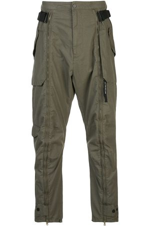 MOSTLY HEARD RARELY SEEN Zip-up cargo trousers