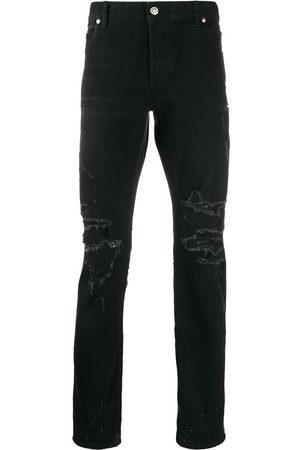Balmain Ripped slim jeans