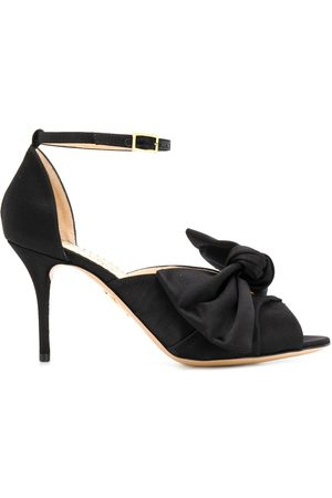 Charlotte Olympia Bow front stiletto sandals