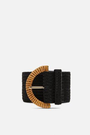 Zara Half-moon buckle belt