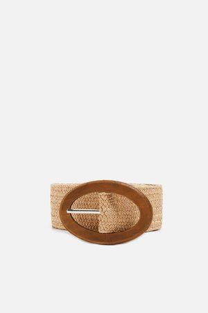 Zara Braided stretch belt