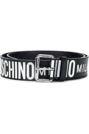 Moschino Muži Pásky - All-over logo belt