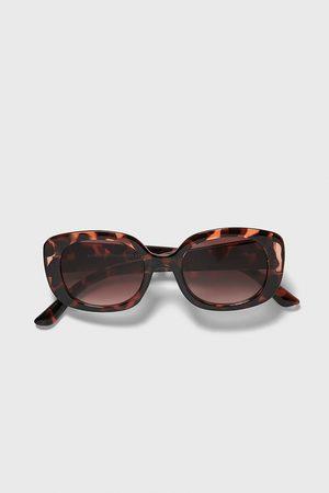 Zara Sluneční brýle s želvovinovým efektem