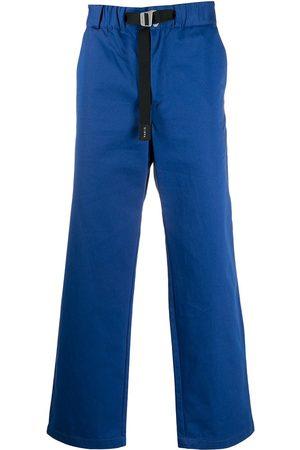 Kenzo Belted-waist straight leg trousers