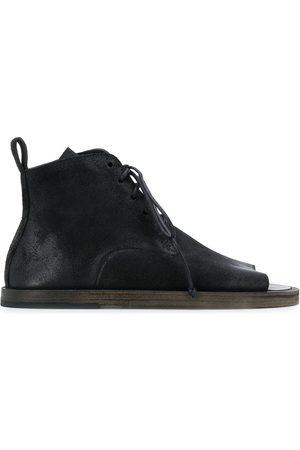 MARSÈLL Open toe flat desert boots