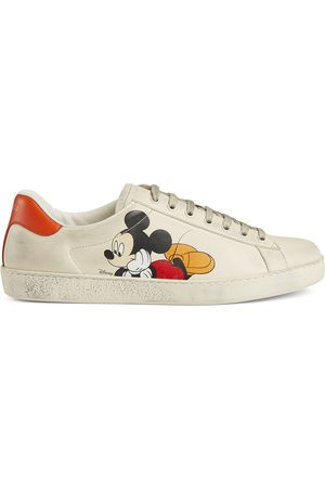 Gucci X Disney Mickey Mouse Ace low-top sneakers