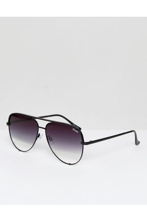 Quay Australia High Key sunglasses in black fade