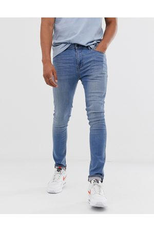 ASOS Super skinny jeans in light wash-Blue