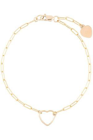 Petite Grand Heart cable chain bracelet
