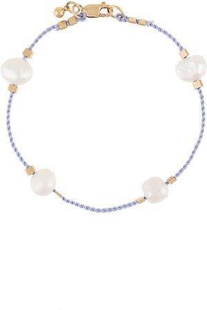 Petite Grand Freshwater pearl cord bracelet