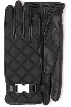 Prada Quilted buckle gloves