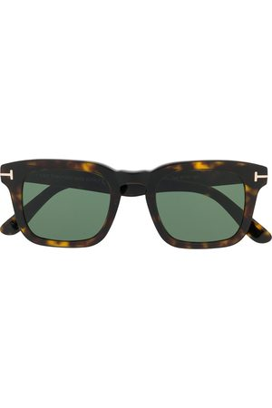 Tom Ford Tortoiseshell square-frame sunglasses