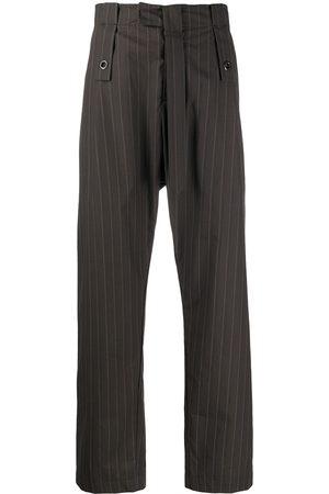 CRAIG GREEN Striped straight-leg trousers