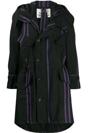 Vivienne Westwood Striped parka coat