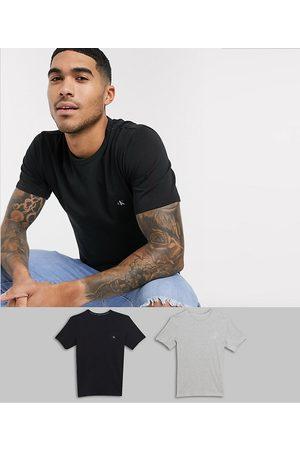 Calvin Klein CK One 2 pack logo crew neck lounge t-shirts-Multi