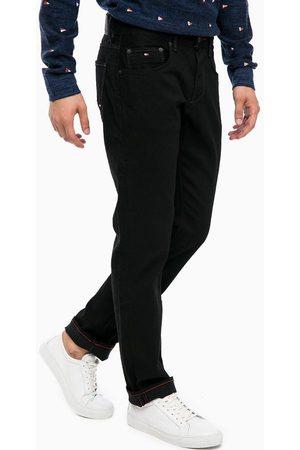 Tommy Hilfiger Pánské černé džíny Core